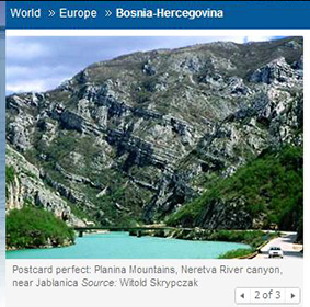 Planina Mountains, Neretva River Canyon, Bosnia-Hercegovina, Bosnia