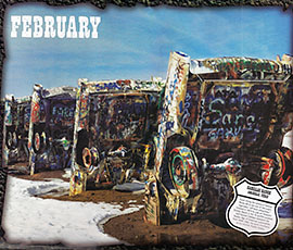 Route 66, Cadillac Ranch, graffiti, pop art, Amarillo, Texas