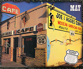 Joe and Aggies Cafe, Route 66, Holbrook, Arizona