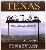 Ranch Gate, West Texas