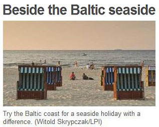 Baltic, Beach, Swinoujscie, Poland